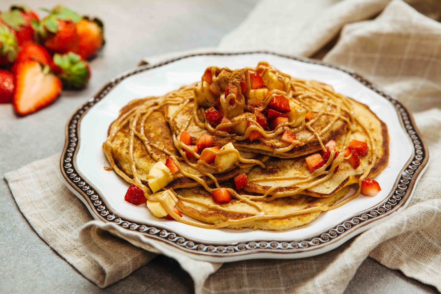 Cottage Cheese Pan Cakes