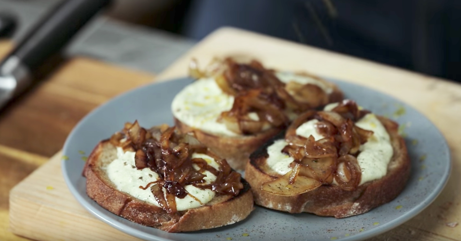 Fromage Fort Cheese Spread + Caramelized Onions - The Fat ...