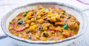 Creamy Coconut Chickpeas Curry