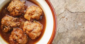 Meatballs in Gravy